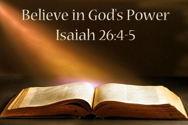 believeingodspower