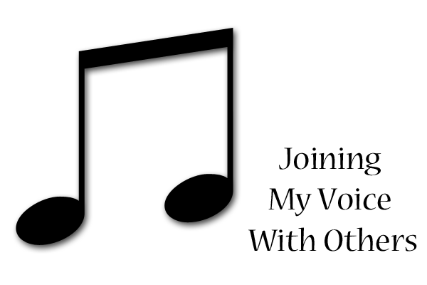 joiningmyvoicewithothers