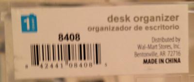 organizerlabel