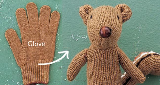 chipmunk-glove