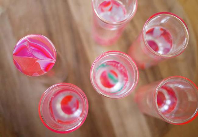 marbledglassware