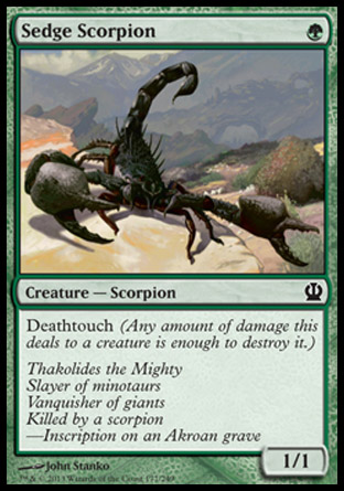sedgescorpion